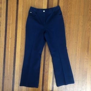 St. John Sport by Marie Gray navy trousers pants 6